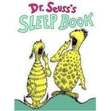 Dr. Seuss Book Sleep Book