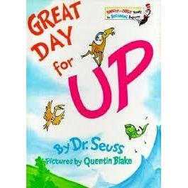 Dr. Seuss Book Great Day For Up! 6.5x9