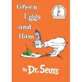 Dr. Seuss Book Green Eggs And Ham 6.5x9