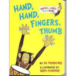 Dr. Seuss Book Hand, Hand, Fingers, Thumb (4x5 Board Book)
