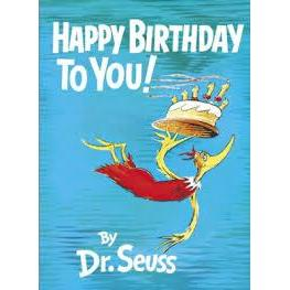 Dr. Seuss Book Happy Birthday To You