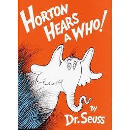 Dr. Seuss Book Horton Hears A Who