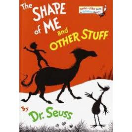 Dr. Seuss Book Shape Of Me And Other Stuff (4x5 Board Book)