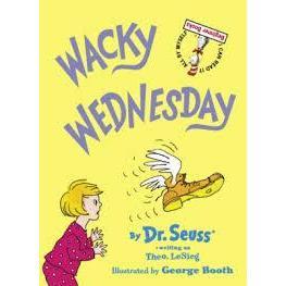 Dr. Seuss Book Wacky Wednesday 6.5x9