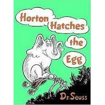 Dr. Seuss Book Horton Hatches The Egg