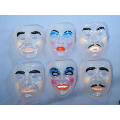 Mask - Assorted Transparent Face Masks