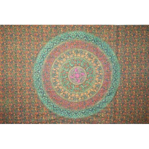 Tapestry Queen Size Sanganeer Green