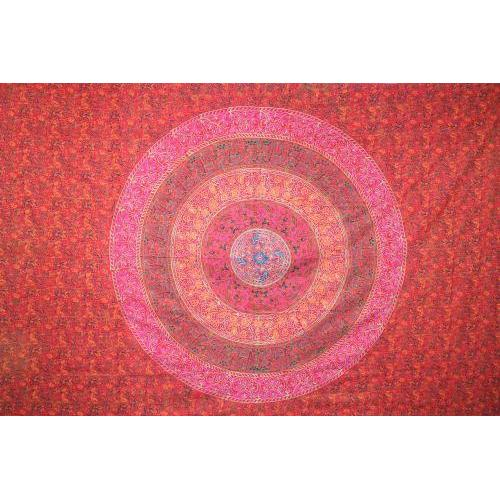 Tapestry Queen Size Sanganeer Red