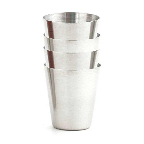 Drinkware Shot Glass Metal Set