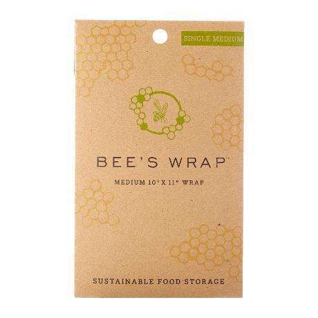 Food Saver Wax Bees Wrap Single 10x11in Medium
