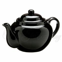 Teapot Windsor 3cup With Infuser Black