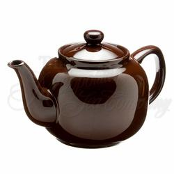 Teapot \'windsor\' 6cup Brown