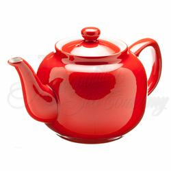 Teapot Windsor 6cup Red