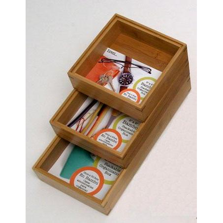 Drawer Organizer Bamboo 6x6