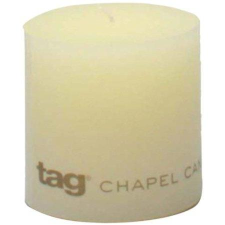 Pillar Candle 3x3 Ivory