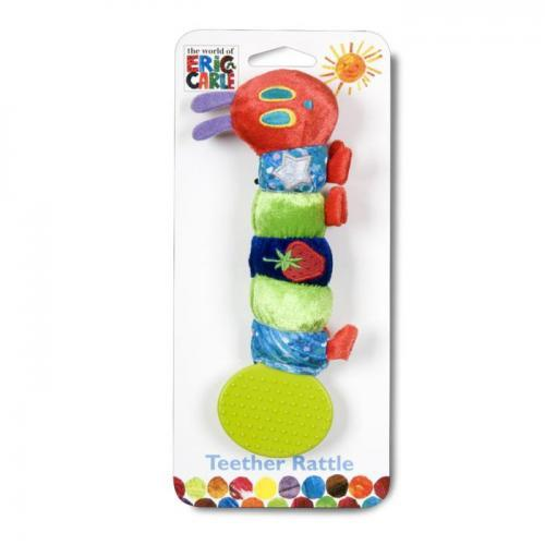 Eric Carle Hungry Caterpillar Rattle Teether