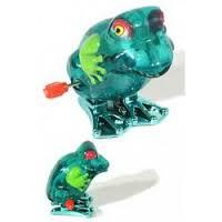 Frog Hop Winky Wind Up
