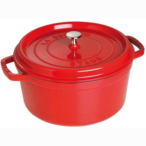 Cookware staub Cocotte 4qt Red-cherry