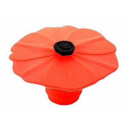 Wine Bottle Stopper Poppy