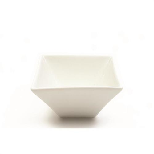 Dinnerware White Basics Bowl Square Flared 4.75in