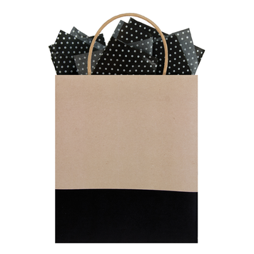 Gift Bag Kraft Dipped Nightshade