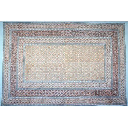 Tapestry Twin Size Moroccan Foulard Blue