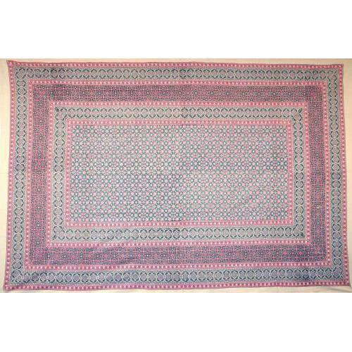 Tapestry Twin Size Moroccan Foulard Pink