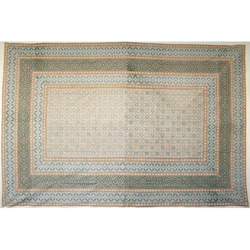 Tapestry Twin Size Moroccan Foulard Green