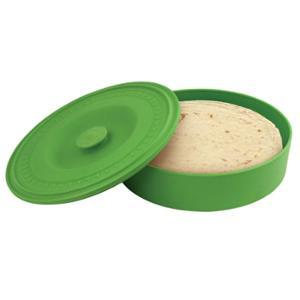 Tortilla Warmer Storage Canister With Lid Green