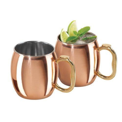 Drinkware Tumbler Mug Metal-copper Moscow Mule 20oz 2 Pieces 17.99ea