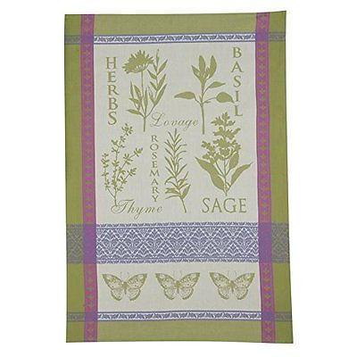 Tea Towel Jacquard Herbs