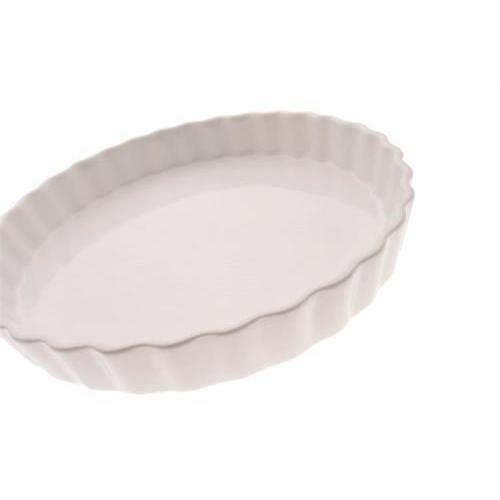 Bakeware White Basics Quiche Dish 11.1in