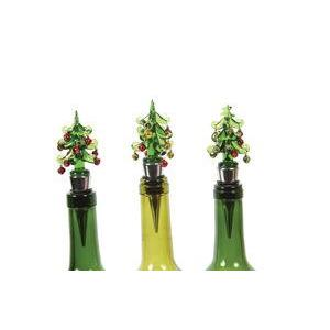 Christmas - Bottle Stopper Glass Tree