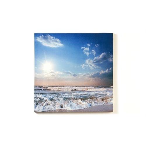 Canvas Print Beach Sunset