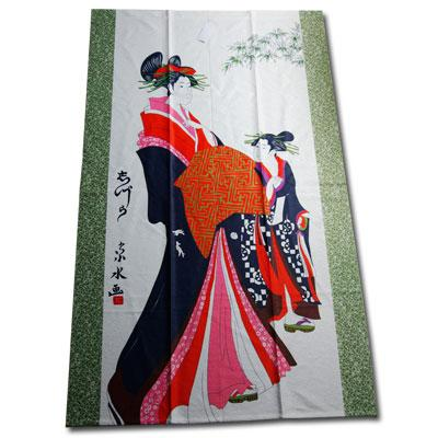 Door Curtain Japanese Beauty Design