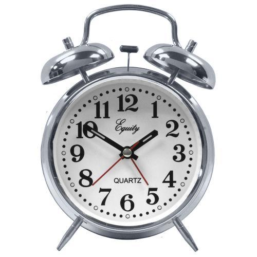 Alarm Clock Analog Quartz Twin Bell