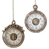 Ornament 2 Assorted 4 Inch Pocket Watch