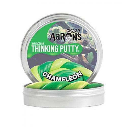 Thinking Putty 4in Heat Sensitive Hypercolor Chameleon