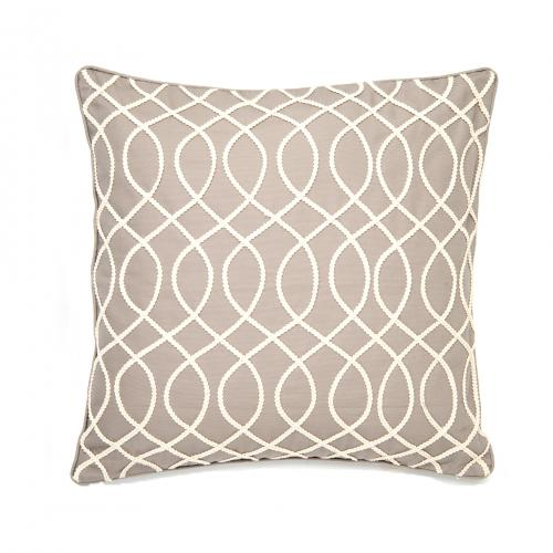 Rope Light Grey Pillow 20inx 20in