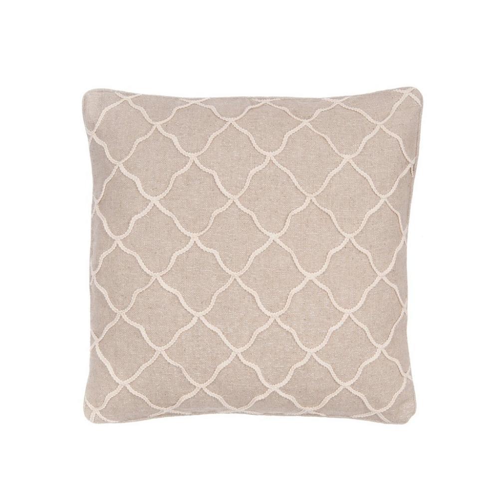 Palladium Rope Pillow 20in X 20in