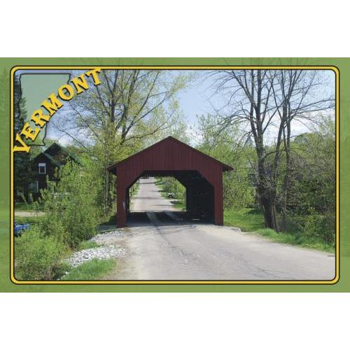Vermont Postcard - Covered Bridge