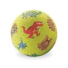Playground Ball 7in Dinosaur Green