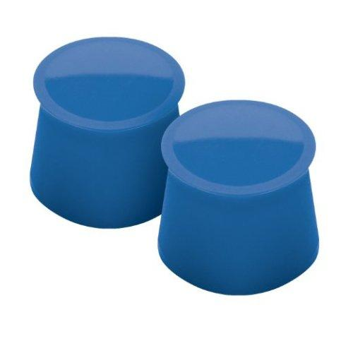Wine Bottle Stopper Cap Blue-Capri 2 Pieces (2.99ea)