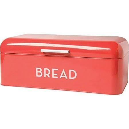 Bread Bin Box Red