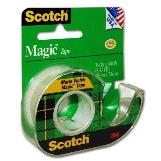 Tape Magic Scotch 3M 3/4 Inch x 300 Inches