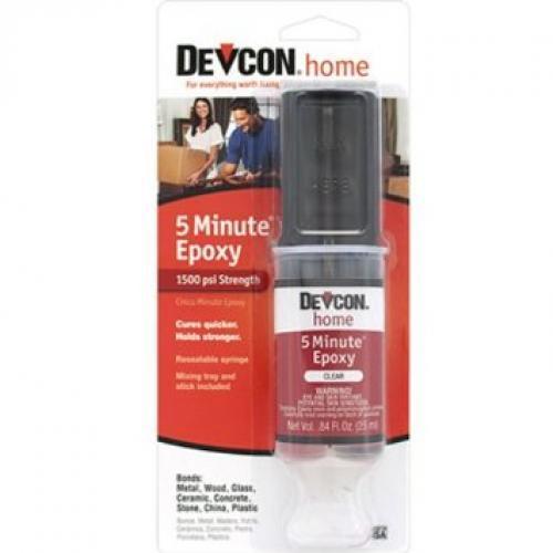 Epoxy 5 Minute Tube Syringe Devcon
