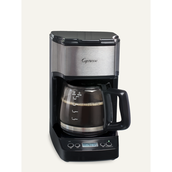 Electric Coffee Maker Drip 5cup Mini With Glass Carafe