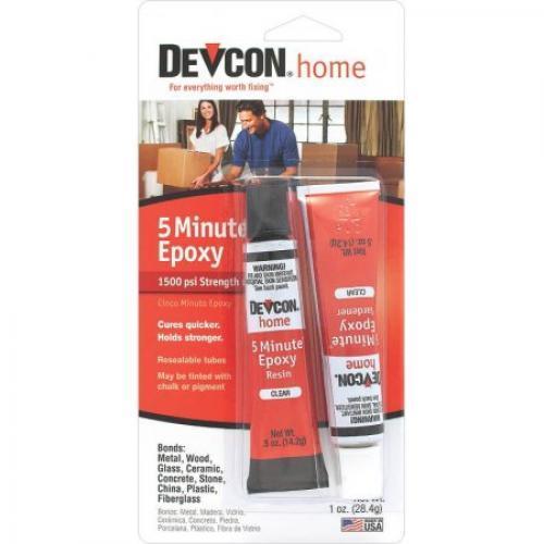 Epoxy 5 Minute 2 Tubes Devcon