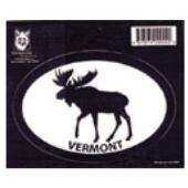 Decal Vermont Moose