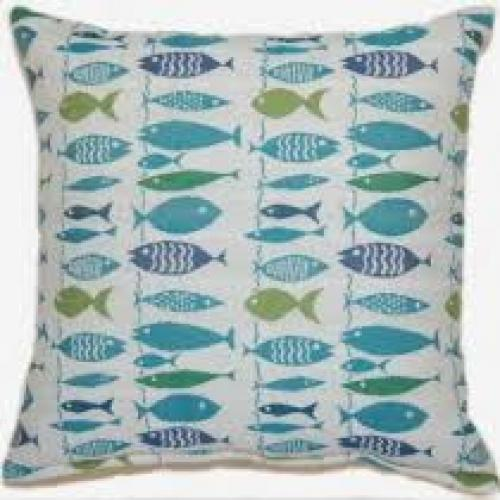 Go Fish Laguna Pillow 17in X 17in